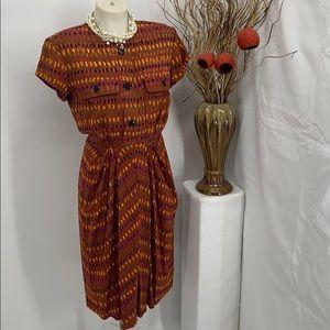 Vintage Anne Klein dress 100% silk size 4